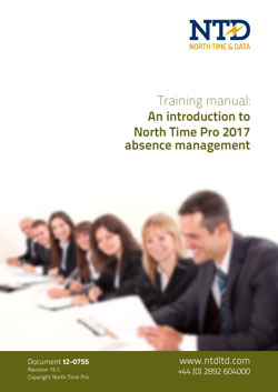 t2-0755 NTD TRAINING Absence management-2017
