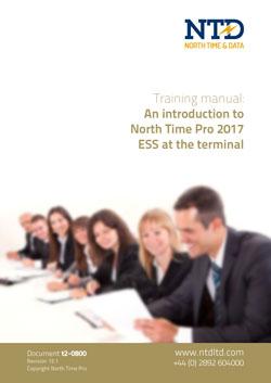 t2-0800 NTD TRAINING ESS terminal 2017