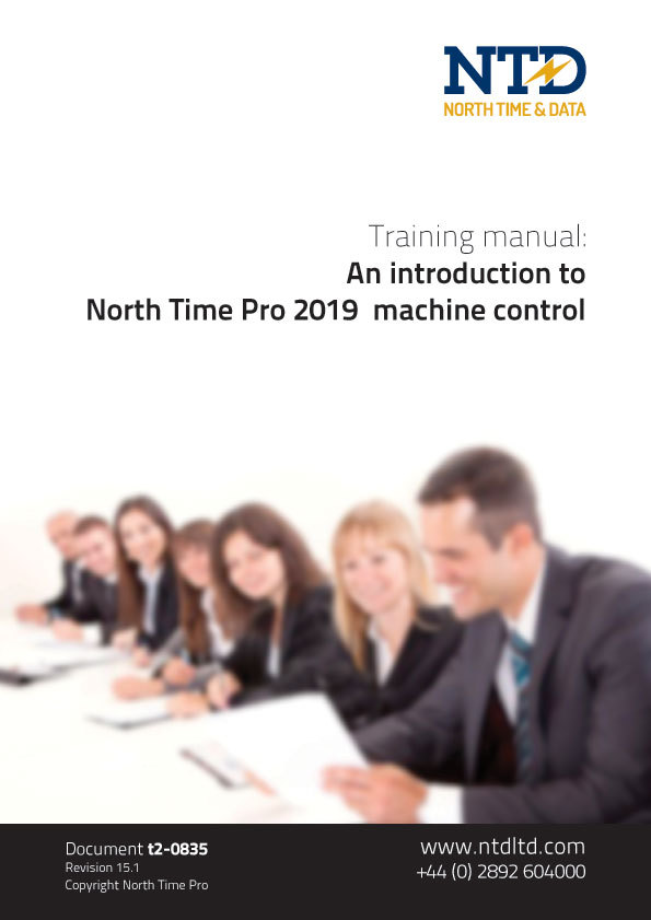 An introduction to North Time Pro 2019 machine control