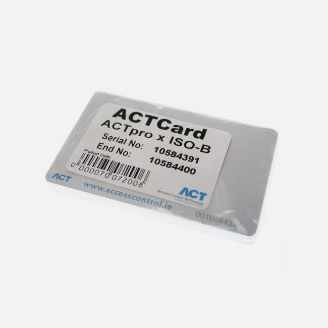Act Actprox Iso-Prox B Rfid Cards