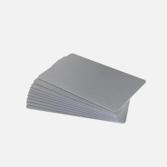 Silver Premium 760 Micron Cards