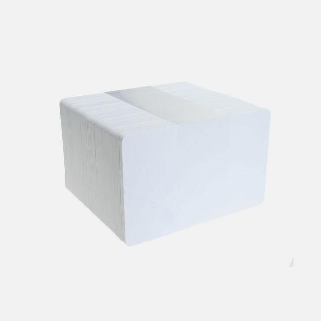 White Premium Pet Core 60/40 Cards