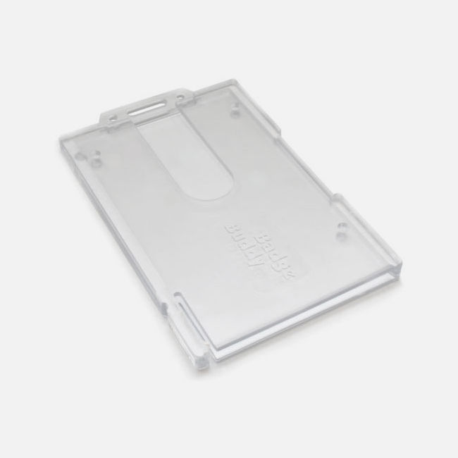 Enclosed Rigid Card Holders - Portrait
