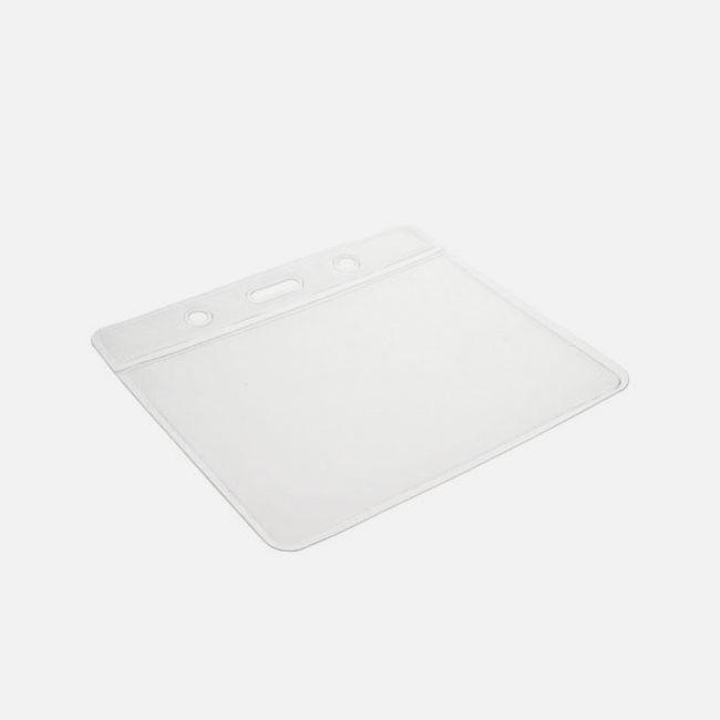 Vinyl Badge Holders Clear 91 X 69Mm