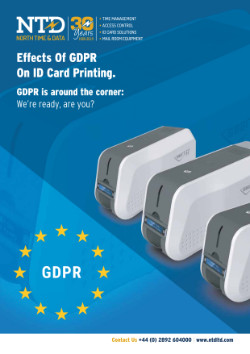 Effects of GDPR on ID Card Printing