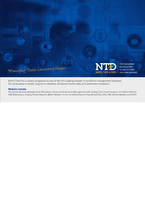 NTD Customisation Brochure