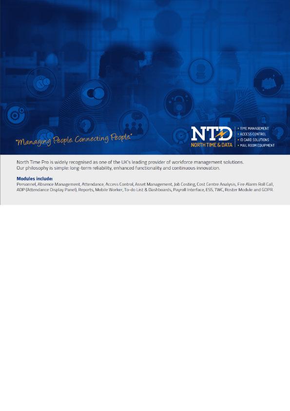 NTD Customisation Brochure