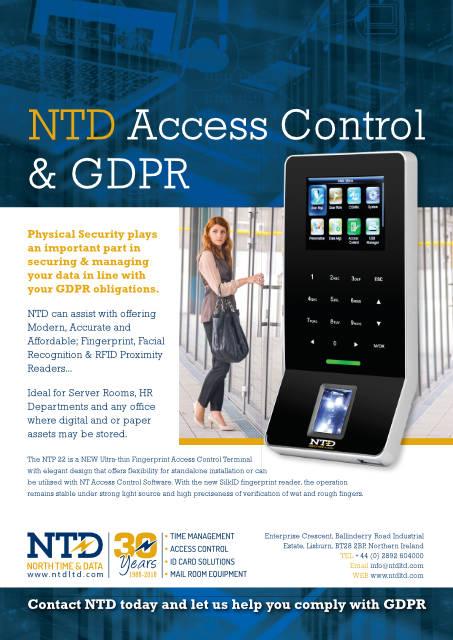NTP 22 access reader