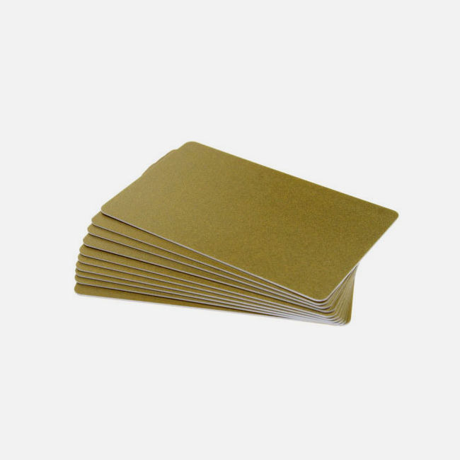 Dark Gold Premium 760 Micron Cards