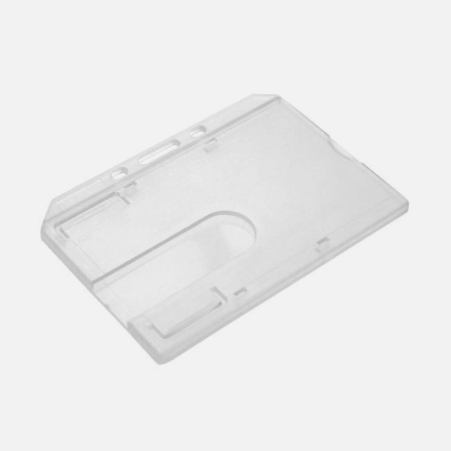 Enclosed Rigid Card Holder - Landscape