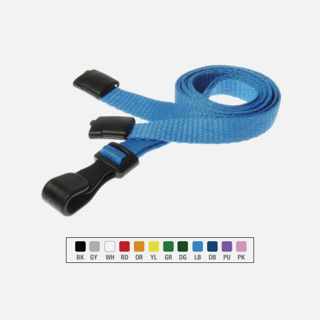 Breakaway Lanyards with Plastic J Clip